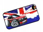Koolart Classic British Design For Retro Mk1 Ford Fiesta XR2 Hard Case Cover Fits Apple iPhone 4 & 4s